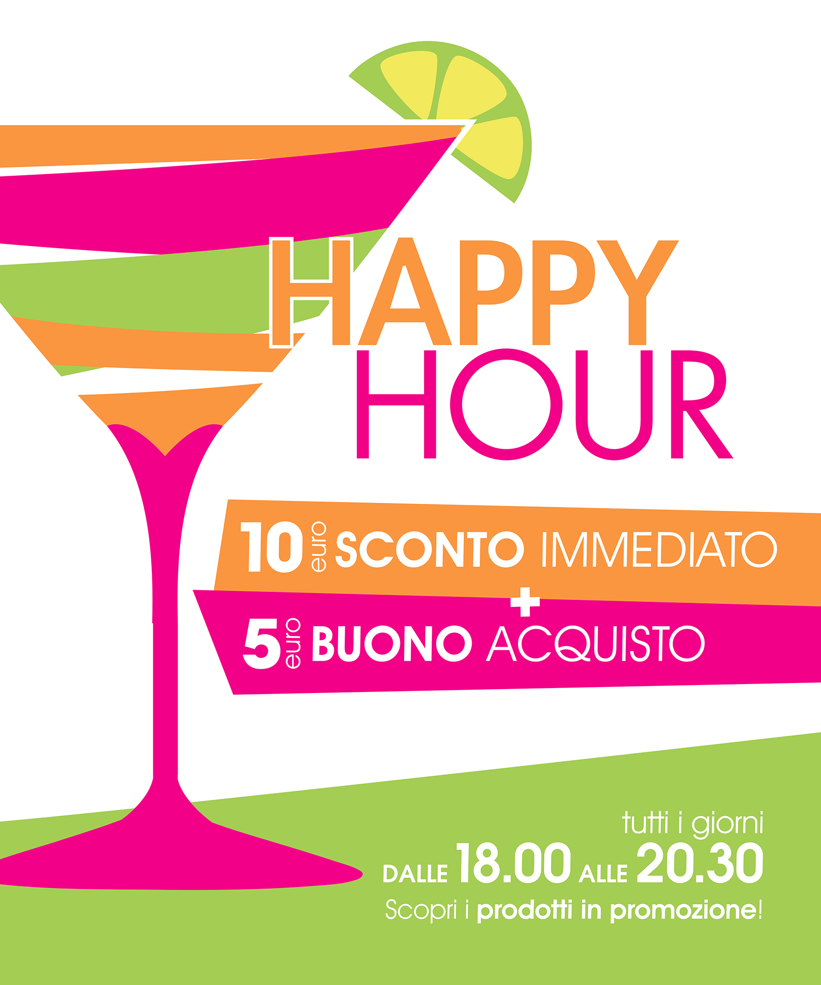 Nuovi happy hour 2017