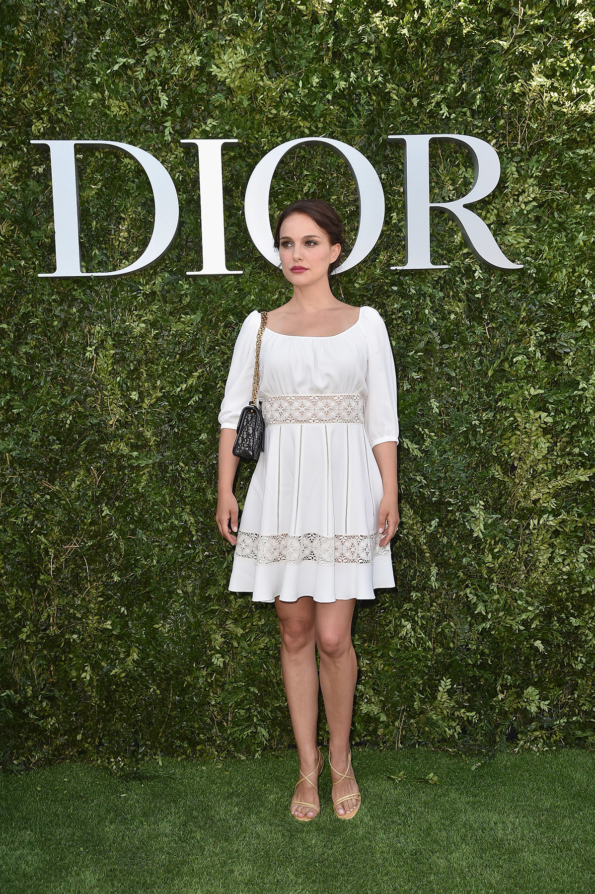 PARIS, FRANCE - JULY 03: Natalie Portman attends 'Christian Dior, couturier du reve' Exhibition Launch celebrating 70 years of creation at Musee Des Arts Decoratifs on July 3, 2017 in Paris, France. (Photo by Jacopo Raule/Getty Images for Christian Dior) *** Local Caption *** Natalie Portman