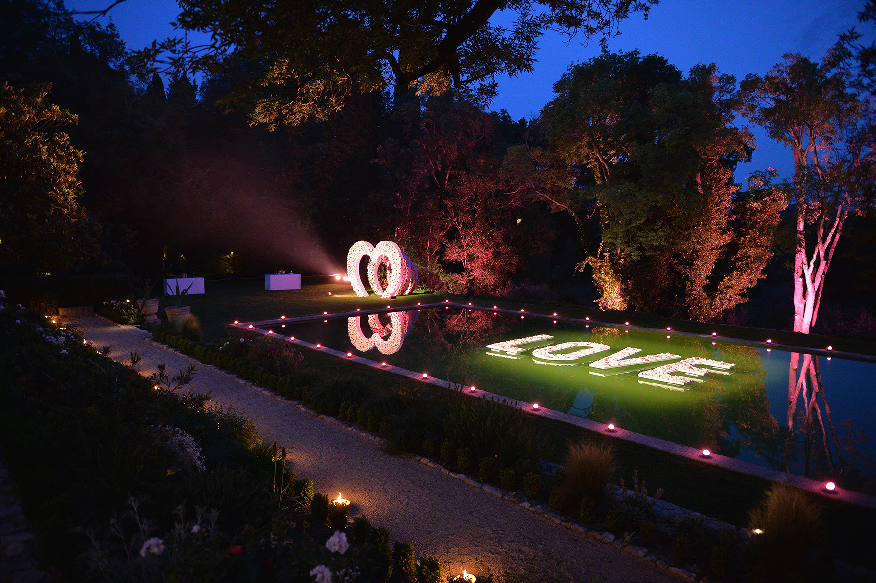 MANDELIEU-LA-NAPOULE, FRANCE - MAY 07: General atmosphere during the Dior dinner party at Chateau de La Colle Noire on May 7, 2018 in Mandelieu-la-Napoule, France. (Photo by Francois Durand/Getty Images for Parfums Christian Dior)