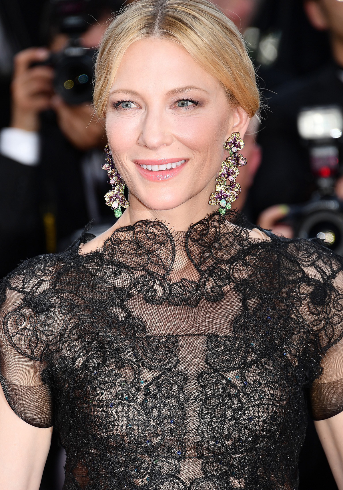 """CANNES, FRANCE - MAY 08: Jury president Cate Blanchet attends the screening of """"Everybody Knows (Todos Lo Saben)"""" and the opening gala during the 71st annual Cannes Film Festival at Palais des Festivals on May 8, 2018 in Cannes, France. (Photo by Dominique Charriau/WireImage)"""