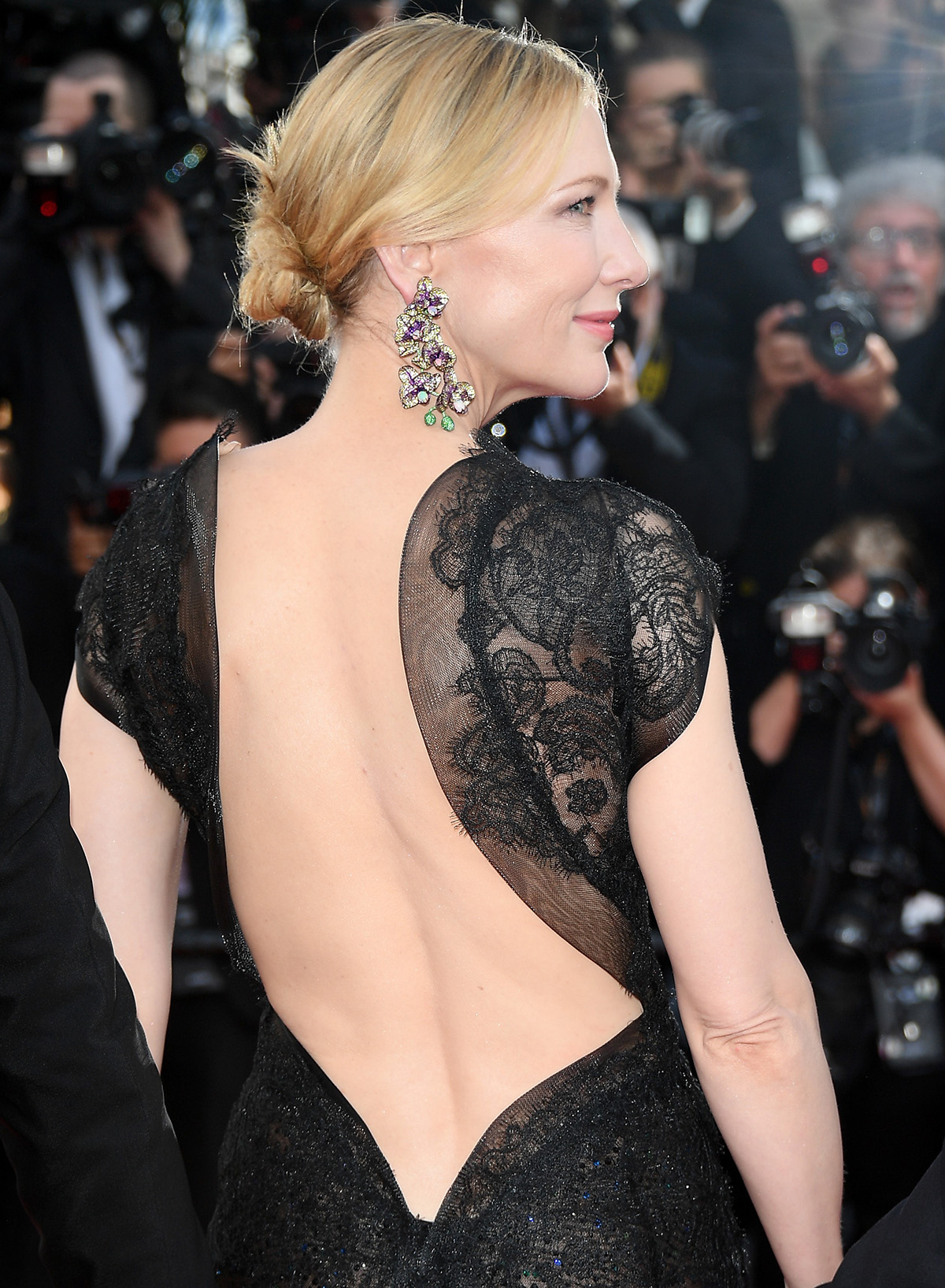 """CANNES, FRANCE - MAY 08: Jury president Cate Blanchett attends the screening of """"Everybody Knows (Todos Lo Saben)"""" and the opening gala during the 71st annual Cannes Film Festival at Palais des Festivals on May 8, 2018 in Cannes, France. (Photo by Venturelli/WireImage)"""