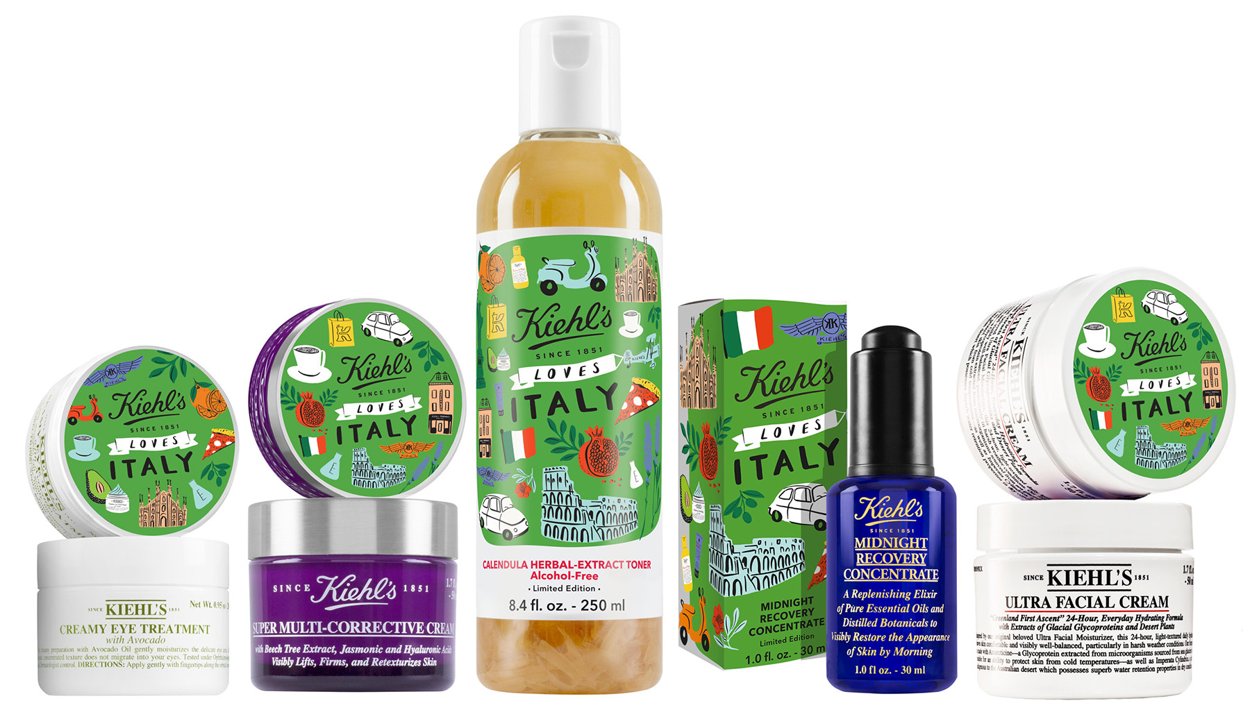 Collezione Kiehls Loves Italy