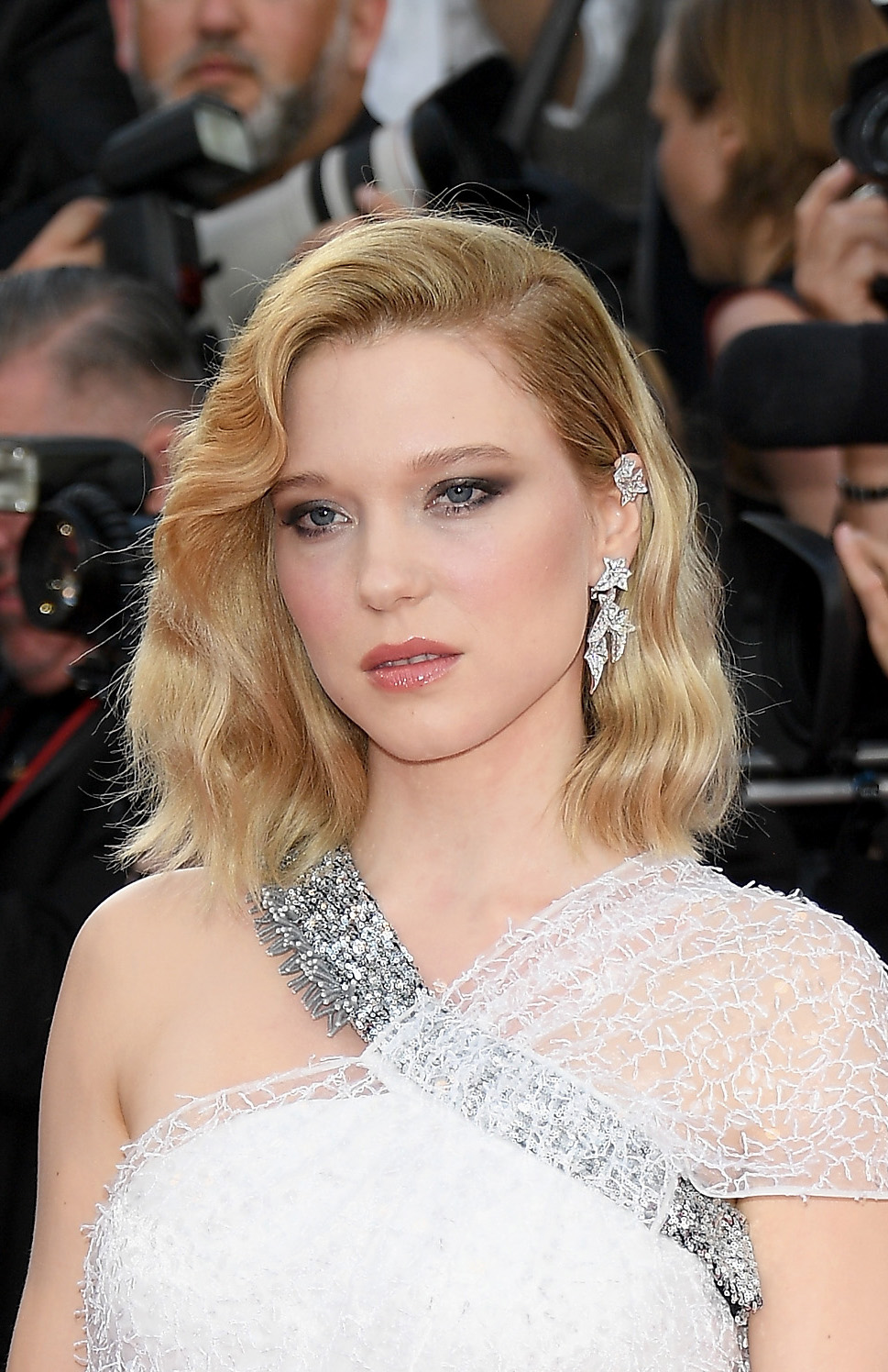 "CANNES, FRANCE - MAY 08: Lea Seydoux attends the screening of ""Everybody Knows (Todos Lo Saben)"" and the opening gala during the 71st annual Cannes Film Festival at Palais des Festivals on May 8, 2018 in Cannes, France. (Photo by Venturelli/WireImage)"